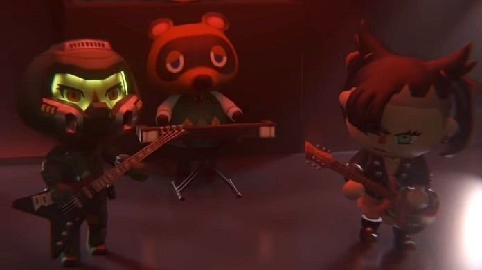 Doom Eternal Animal Crossing Crossover Video