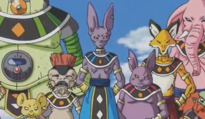 dragon ball gods of destruction