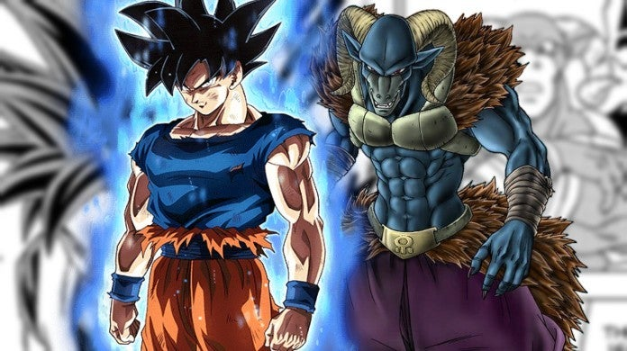 Dragon Ball Super Ultra Instinct Goku Moro Manga