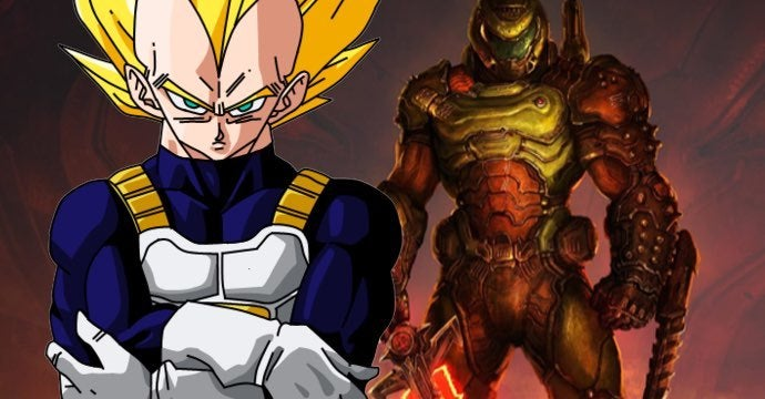 dragon ball vegeta doom eternal