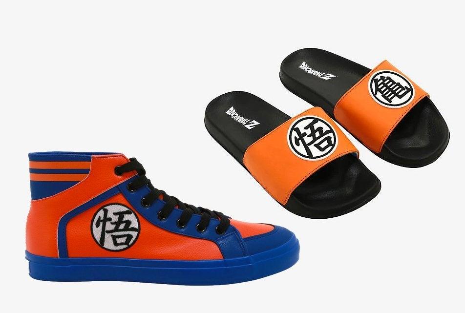 Dragon Ball Z Hi-Top Sneakers