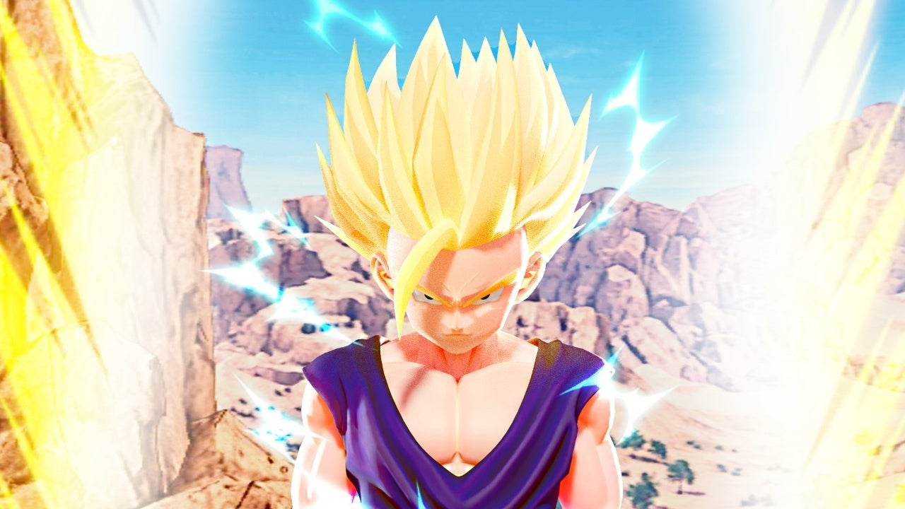 Dragon Ball Z Young Gohan vs Cell Fan Art CG Rendered