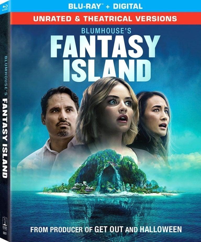 tampa do blu ray da ilha da fantasia