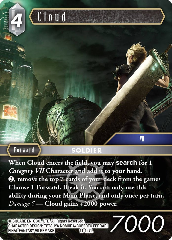 Final-Fantasy-TCG-Opus-XI-Set-Cloud-Light