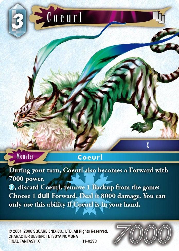 Final-Fantasy-TCG-Opus-XI-Set-Coeurl-Ice