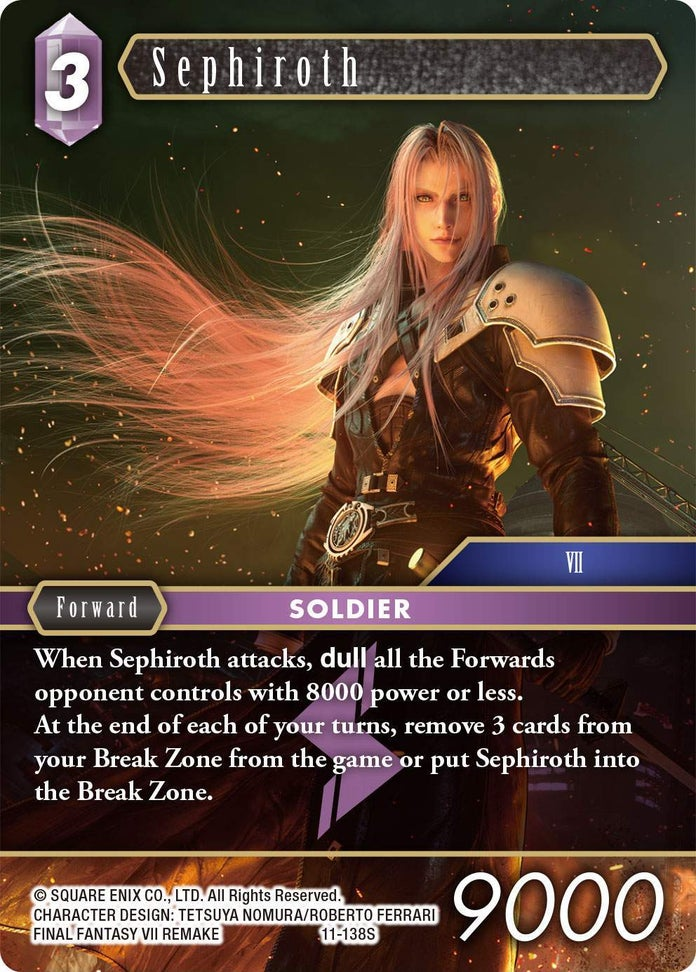 Final-Fantasy-TCG-Opus-XI-Set-Sephiroth-Lightning