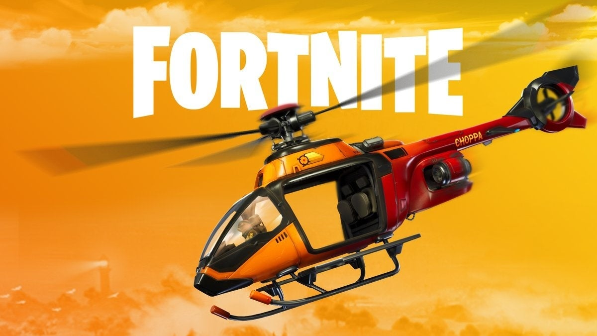 fortnite helicopter