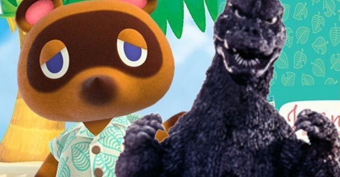 godzilla animal crossing