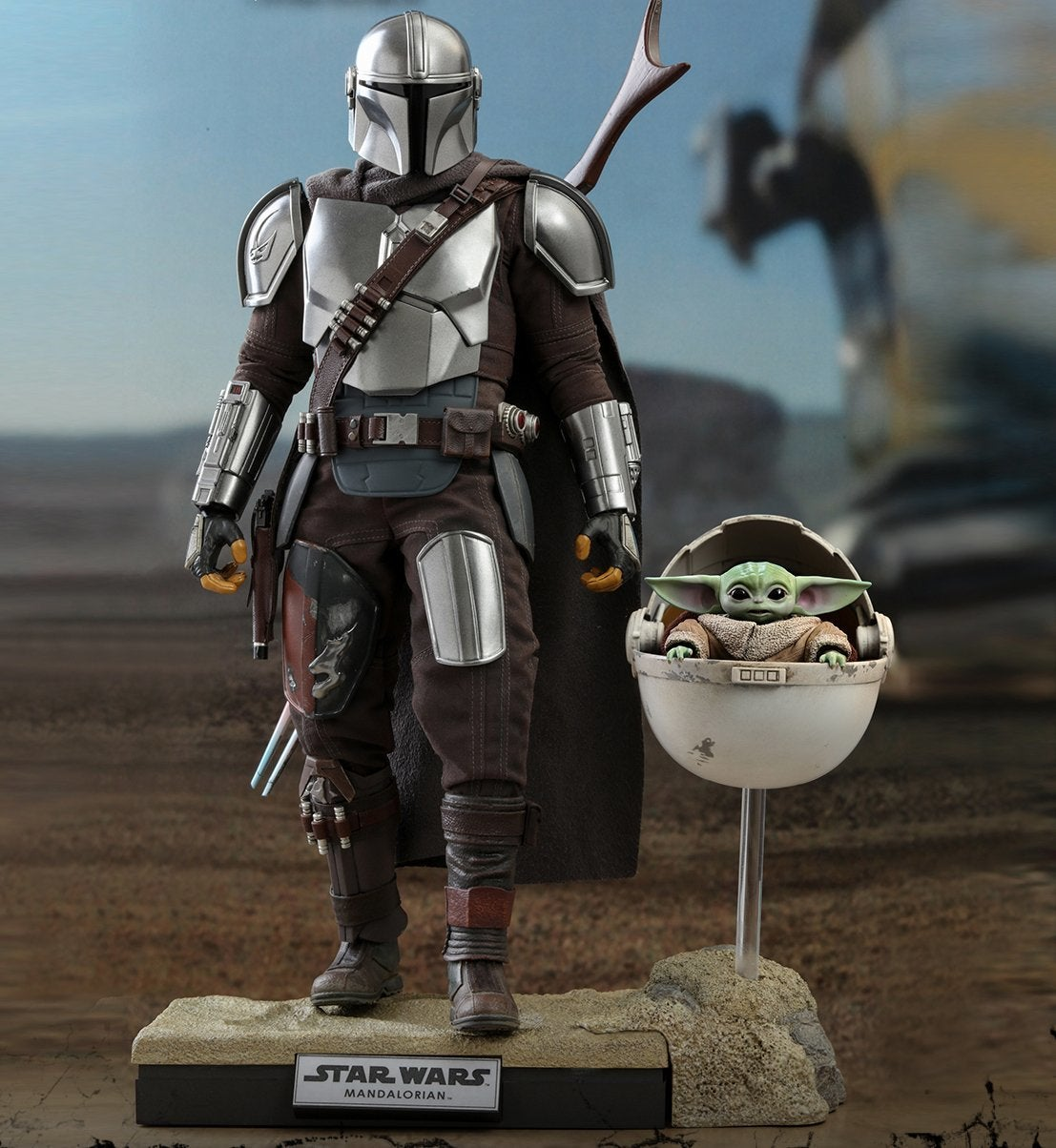 Hot Toys - STM - Mandalorian and Child Collectible Set (Deluxe)_PR1