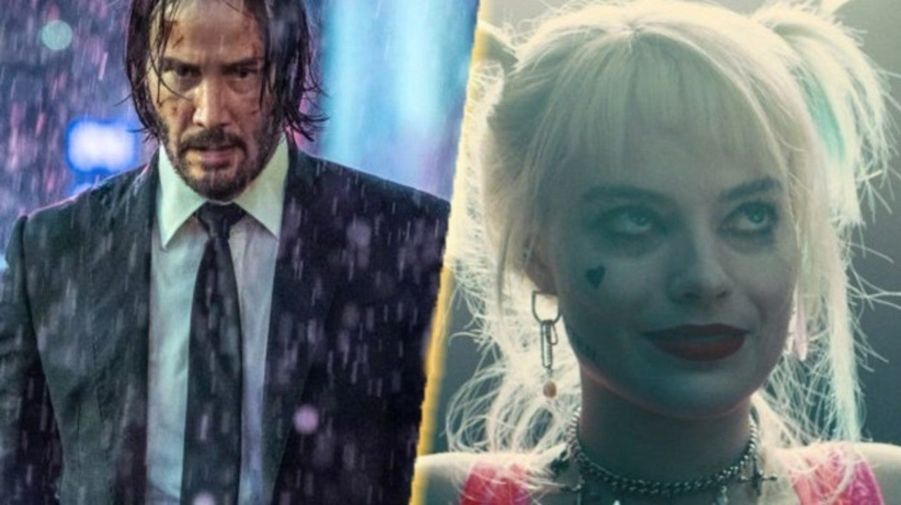 Image result for John Wick and Harley Quinn Face-off for the Battle!