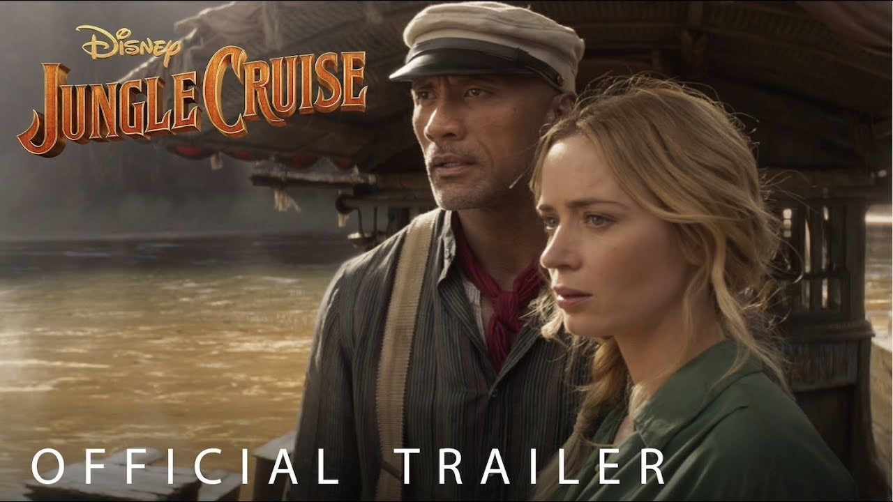 jungle cruise trailer disney