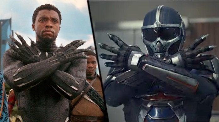 Marvel Black Widow Movie Taskmaster Black Panther