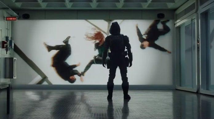Marvel Black Widow Taskmaster Iron Man 2 Footage Easter Egg