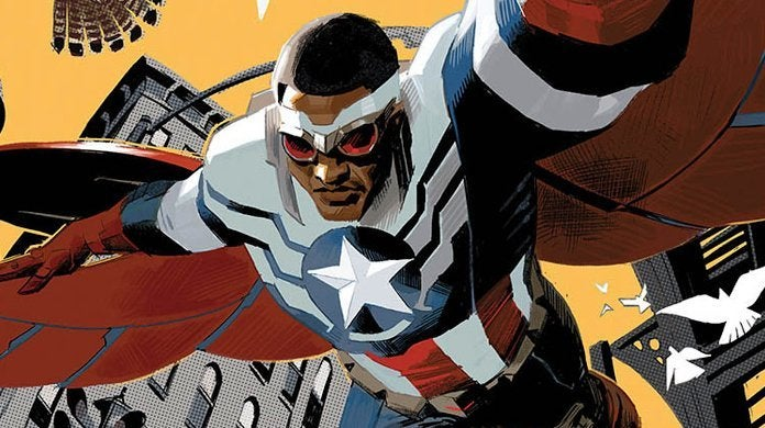 Marvel Captain America Sam Wilson Designs