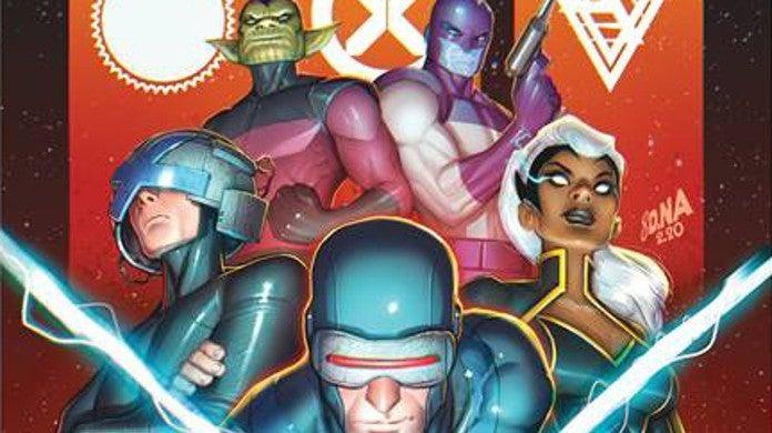 Marvel Empyre X-Men Kree Skrull Empire Alliance