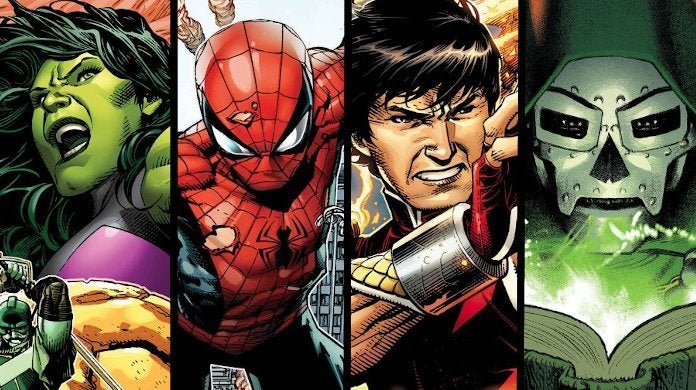 Marvel June 2020 Releases Spider-Man Shang-Chi Avengers Fantastic Four