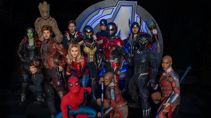Marvel superheroes Avengers Campus
