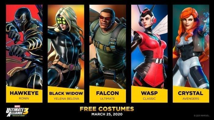 marvel ultimate alliance avengers