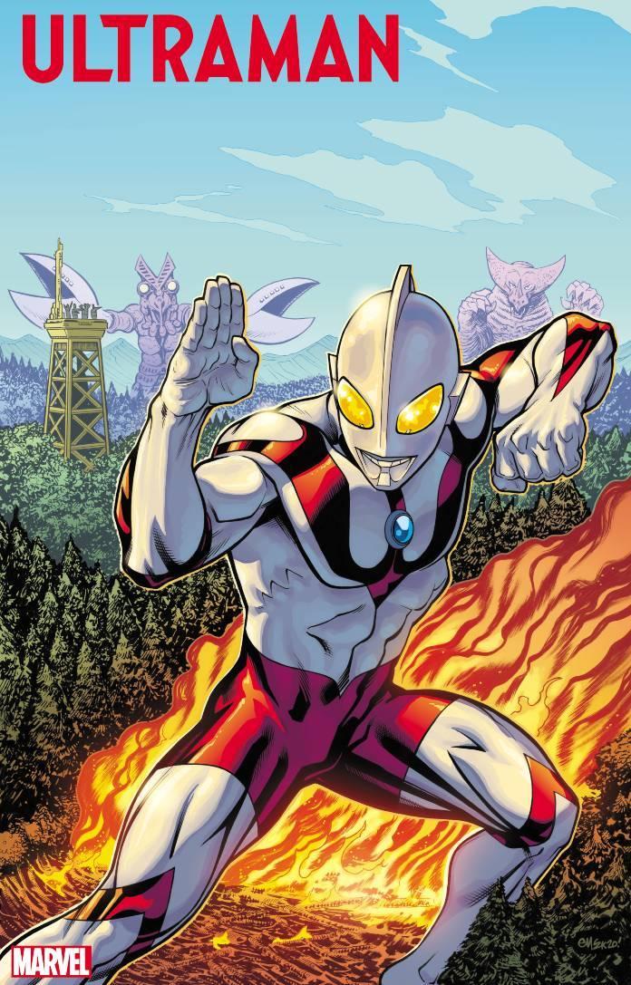 Marvel Ultraman Comic Cover Art