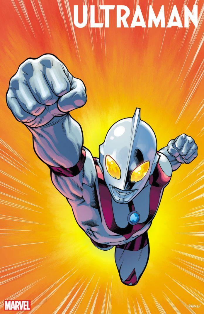 Marvel Ultraman Comic Cover Art 2