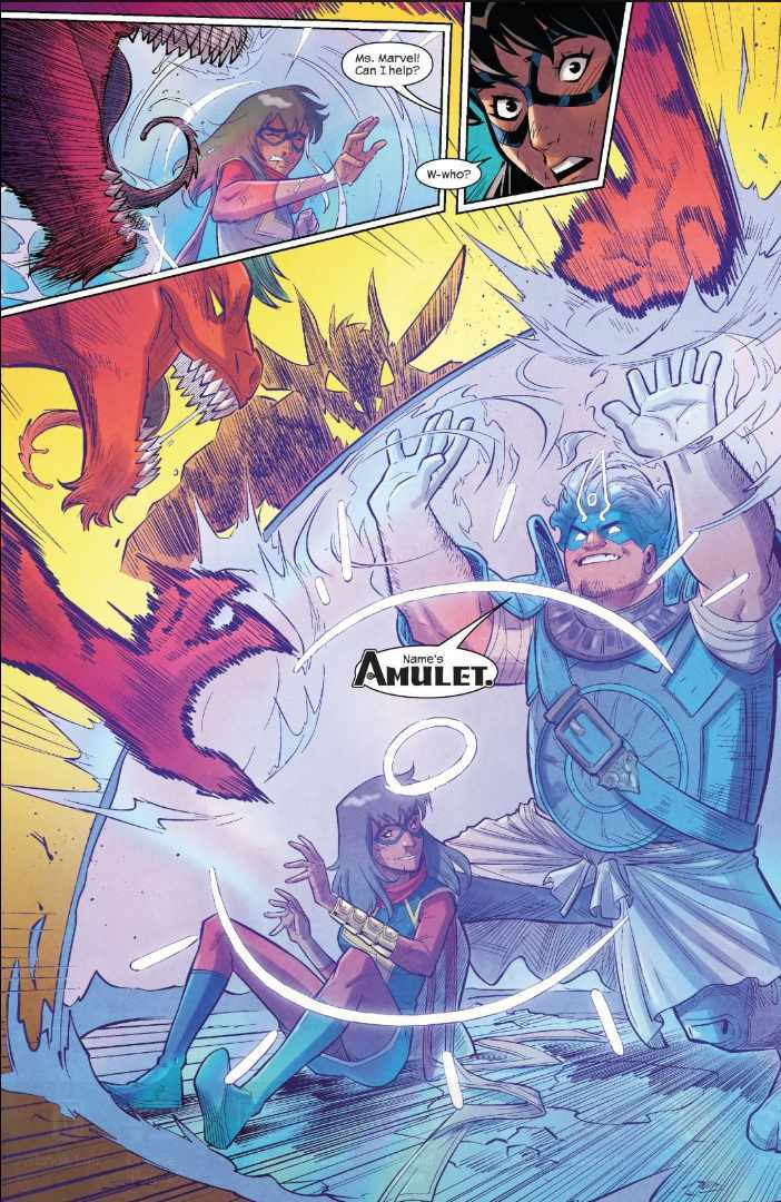 Ms Marvel Amulet First Appearance