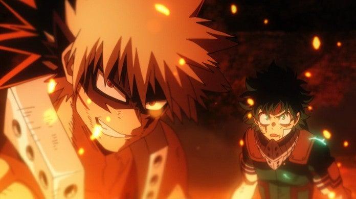 My Hero Academia Heroes Rising Katsuki Bakugo Izuku Midoriya Deku