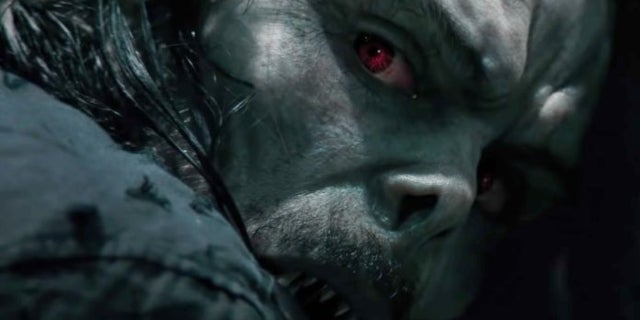 New Morbius Image Reveals Scary Shot of Jared Leto as the Spider-Man Villain