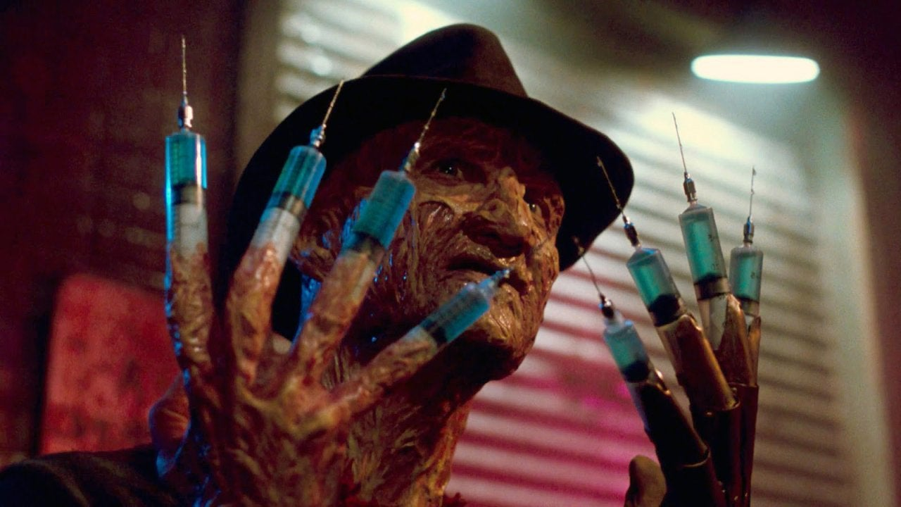 nightmare on elm street dream warriors robert englund freddy krueger