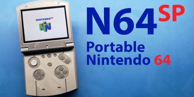 Modder Makes the Nintendo 64 Library Portable