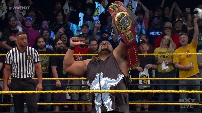 NXT Keith Lee