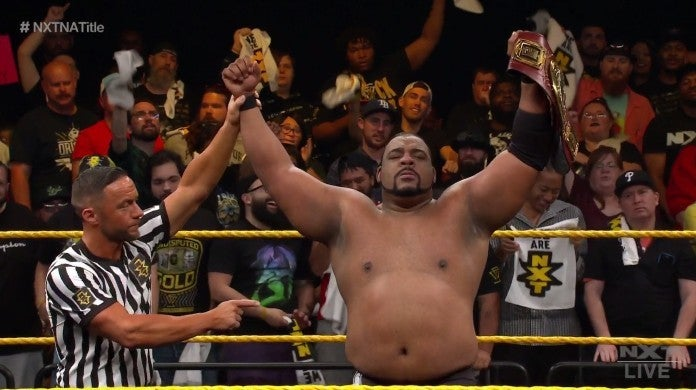 NXT Keith Lee March 11