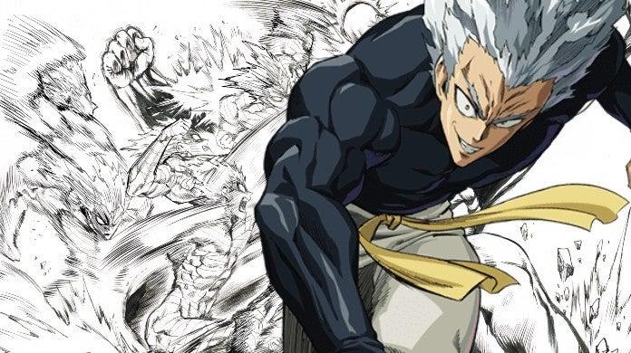 One-Punch Man Garou Yusuke Murata Sketch