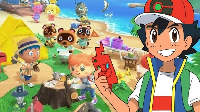 Pokemon Animal Crossing New Horizons