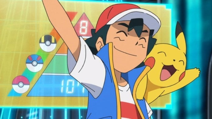 Pokemon Anime Ash Pikachu World Championships