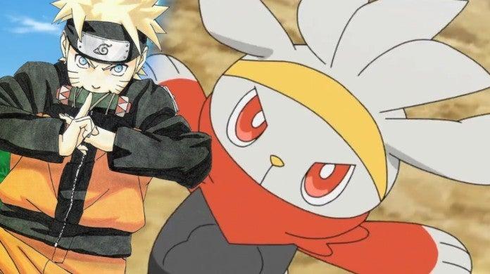 Pokemon Naruto Raboot Anime