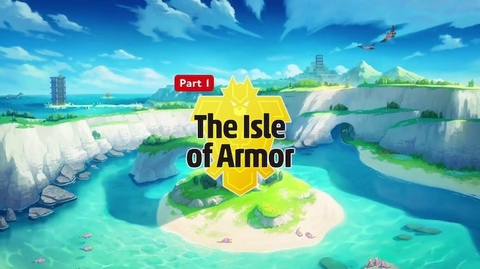 pokemon sword and shield isle of armor