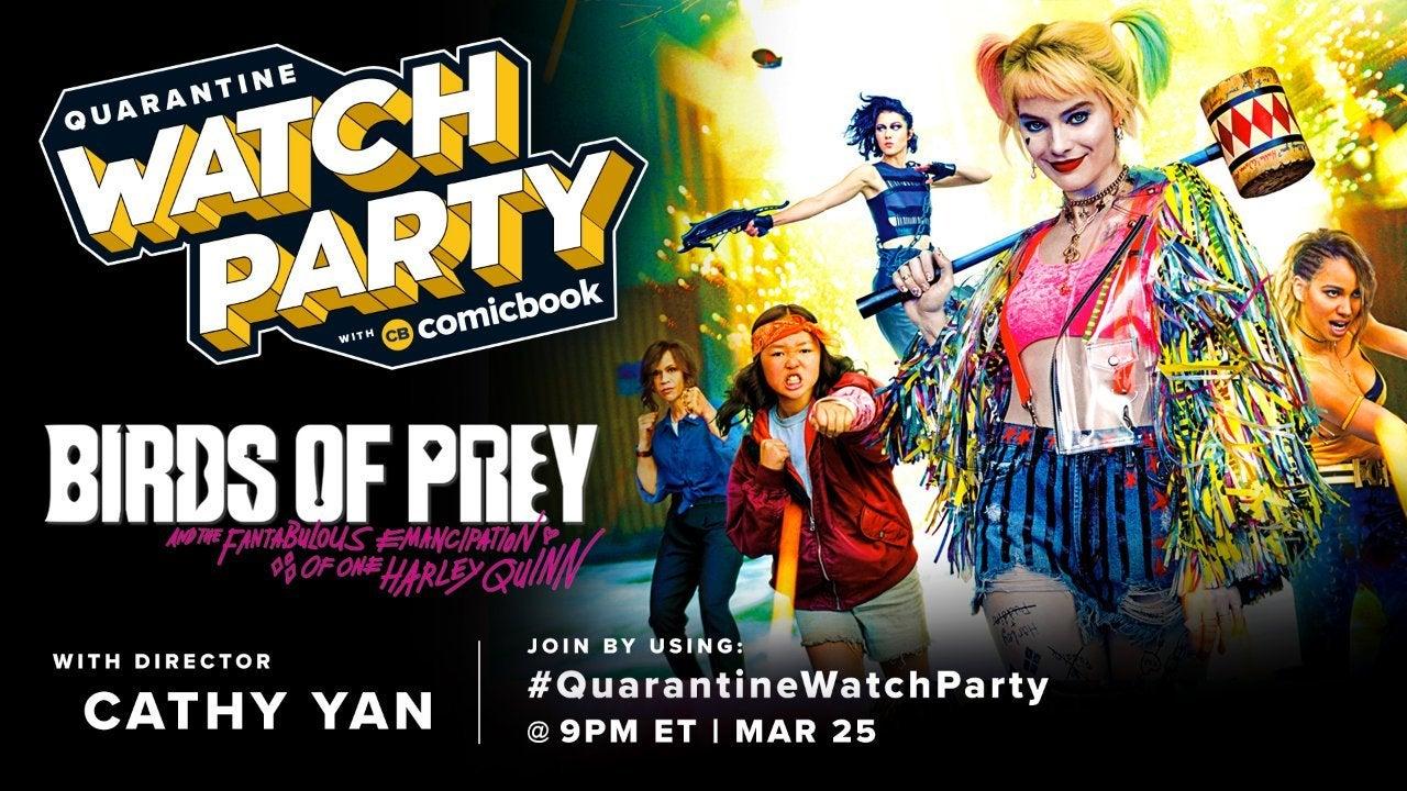 Birds Of Prey Director Cathy Yan Joins Quarantine Watch Party