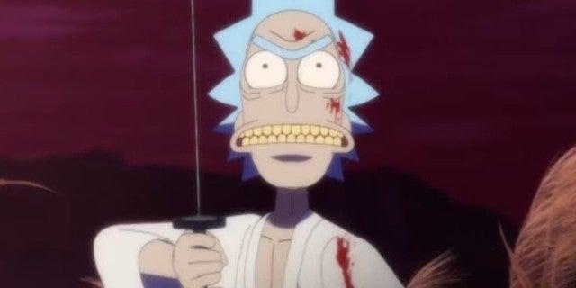 Rick y Morty estrena el corto asesino de anime durante Toonami