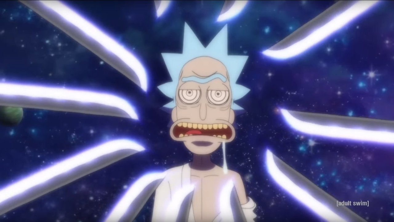 Rick and Morty Season 4 Anime Short