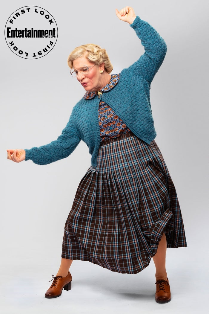 Rob McClure as Mrs Doubtfire remake