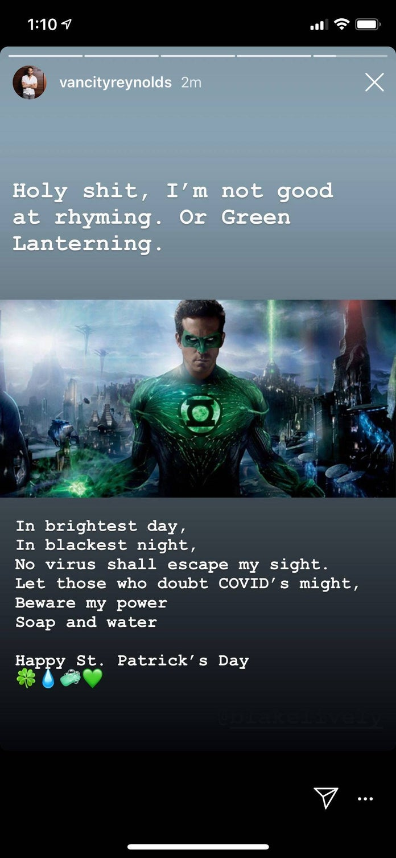 Ryan-Reynolds-Green-Lantern-Coronavirus-Rhyme