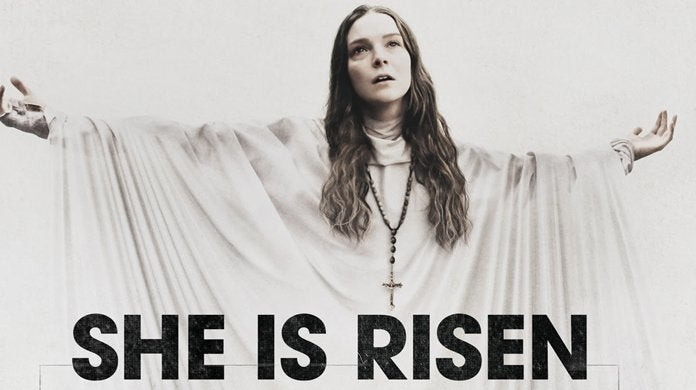saint maud movie she is risen header