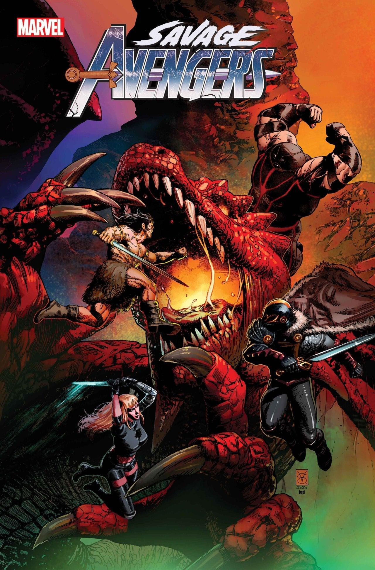 Savage Avengers 14