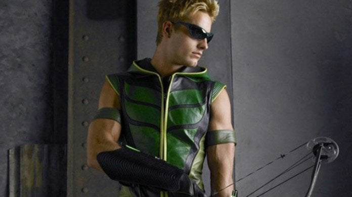 smallville green arrow justin hartley