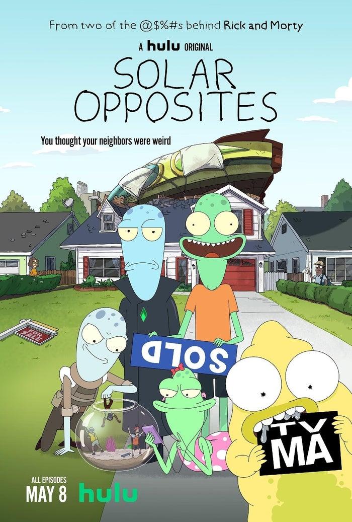 Solar Opposites Hulu Series Poster