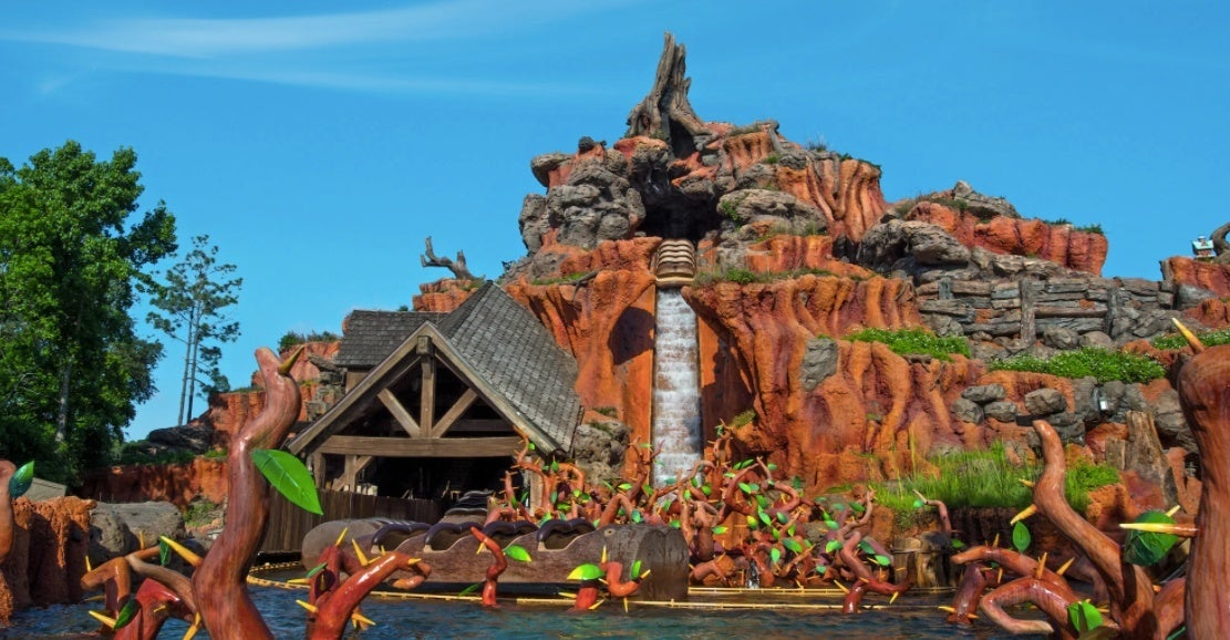 splash mountain ride disney world