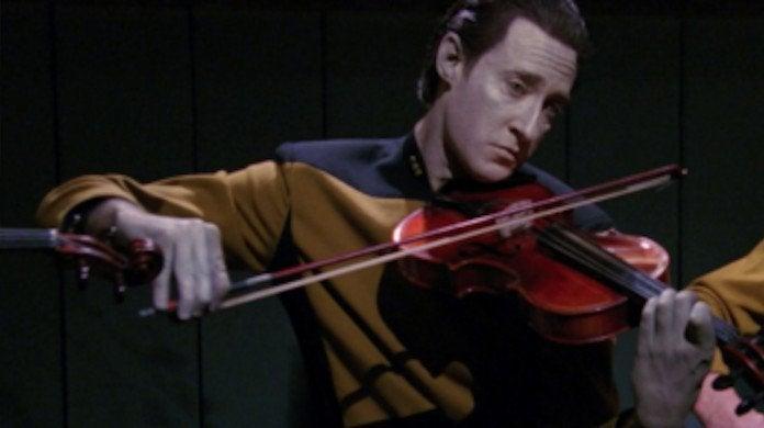Star Trek Data Violin