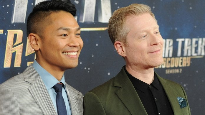 Star Trek Discovery Anthony Rapp Engaged Again