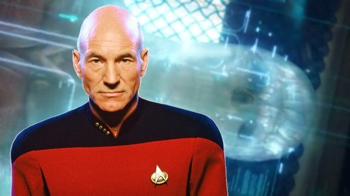 Star Trek Patrick Steward Jean-Luc Picard New Actor Golem Android