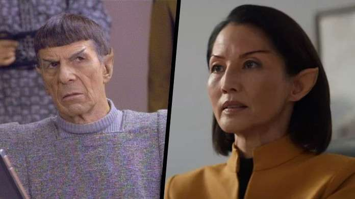 Star Trek Picard Commodore Oh Spock Unification